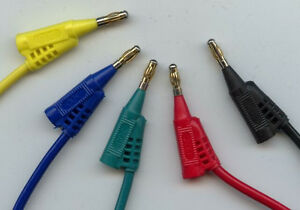 1-0m-gruen-Messleitung-Laborkabel-2-Bananenstecker-4mm