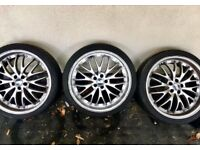 BBS 19inch Split Rim Alloy Wheels