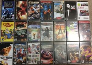 PSP And Playstation 1 Games
