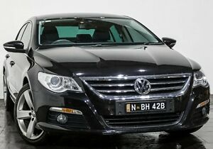 2009 Volkswagen Passat Type 3CC MY09 125TDI DSG Black 6 Speed Sports Automatic Dual Clutch Coupe Rozelle Leichhardt Area Preview