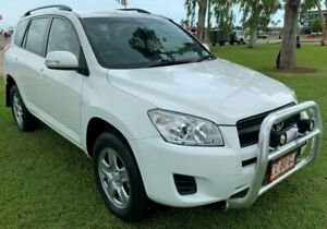 2010 Toyota RAV4 ACA33R MY09 CV White 5 Speed Manual Wagon Berrimah Darwin City Preview