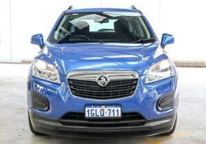 2014 Holden Trax TJ LS Blue 6 Speed Automatic Wagon