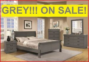 Grey Finish Suite Phillip Louis Styling @ YVONNE'S FURNITURE