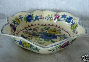 Antique MASONS REGENCY Plantation Colonial Pattern C4475 Bowl - Made in England