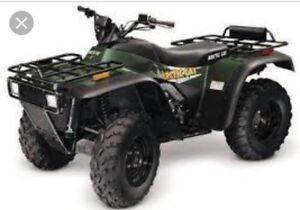 Parting out Arctic cat atvs