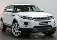 2013 Land Rover Range Rover Evoque L538 MY13 ED4 Pure White 6 Speed Manual Wagon Rozelle Leichhardt Area Preview