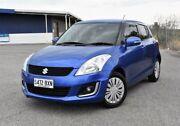 2014 Suzuki Swift FZ MY14 GL Navigator Blue 4 Speed Automatic Hatchback Ingle Farm Salisbury Area Preview