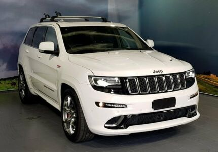 2014 Jeep Grand Cherokee WK MY15 SRT White 8 Speed Sports Automatic Wagon Elizabeth Playford Area Preview