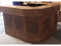 Very Heavy Solid Wood Counter/Bar