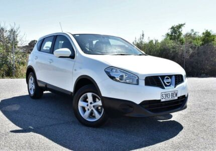 2013 Nissan Dualis J10W Series 3 MY12 ST Hatch X-tronic 2WD White 6 Speed Constant Variable Ingle Farm Salisbury Area Preview