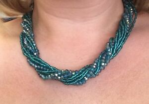 Gorgeous Teal Necklace