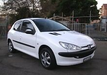 2005 Peugeot 206 C Glacier White 4 Speed Tiptronic Hatchback Belmore Canterbury Area Preview