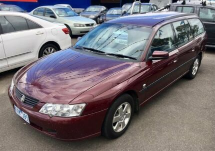 2002 Holden Commodore VY Acclaim Burgundy 4 Speed Automatic Wagon Dandenong Greater Dandenong Preview