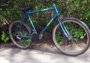 "Triumph 15 Speed Mountain Bike -Tires are like new , 26"" Wheels"
