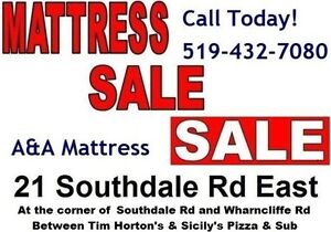 NEW Single Mattresses or Boxsprings from $70 Each AND NO TAX!! London Ontario image 8