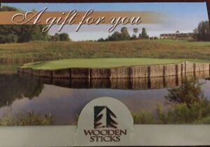 Wooden Sticks gift card $465.00