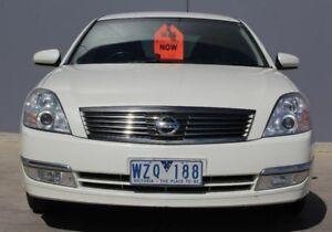 2008 Nissan Maxima J31 MY06 ST-L White 6 Speed Constant Variable Sedan