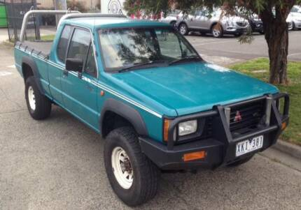 1994 Mitsubishi Triton Ute, 4X4, manual. Great work horse! Bentleigh East Glen Eira Area Preview