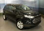 2016 Ford Ecosport BK Trend PwrShift Panther Black 6 Speed Sports Automatic Dual Clutch Wagon Elizabeth Playford Area Preview