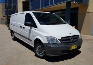 2012 Mercedes-Benz Vito MY11 113CDI LWB White 5 Speed Automatic Van Moorebank Liverpool Area Preview