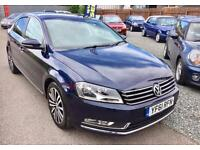 VOLKSWAGEN PASSAT 2.0 TDI 170 Bluemotion Tech Sport 5dr - Sat Nav - Full VW History - �30 Tax 2012