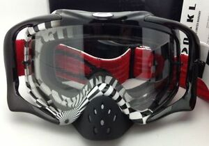 Oakley CrowBar MX Goggles - Brand New Authentic