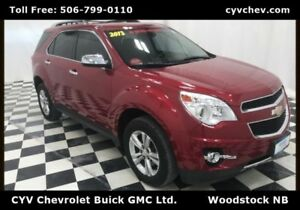 2013 Chevrolet Equinox LTZ AWD - Heated Leather, Sunroof & Rear