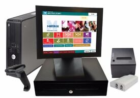 NO MONTHLY epos till cash register for you takeaway and restaurant or fast food business