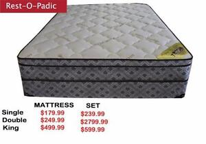 Deals Of the Day Queen Size Mattress and Box