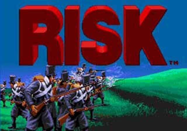 Risk - Sega Genesis Game Complete - $5.97