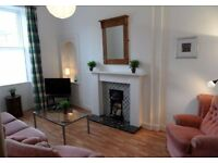 Falkirk Centre Lovely 1 Bed Furnished Flat £395 pcm Fresh Decor Fitted Kitchen Garden Parking