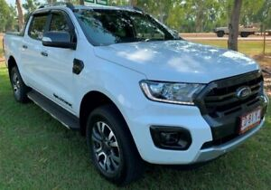 2019 Ford Ranger PX MkIII 2019.00MY Wildtrak Pick-up Double Cab White 10 Speed Sports Automatic Berrimah Darwin City Preview