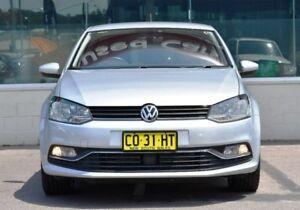 2014 Volkswagen Polo 6R MY15 81TSI DSG Comfortline Silver 7 Speed Sports Automatic Dual Clutch