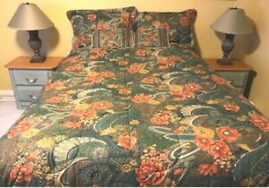 12 piece bedding and matching window treatment bedroom set