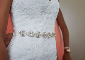 Private Collection Ivory Wedding Dress (sz 2)