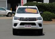 2016 Toyota Hilux GUN126R SR Double Cab White 6 Speed Sports Automatic Utility Acacia Ridge Brisbane South West Preview