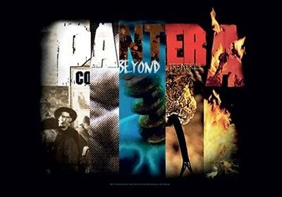 """PANTERA """"ALBUM COLLAGE"""" Fabric Poster Oversized 30""""X40"""" Poster Flag NEW"""