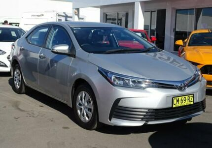 2017 Toyota Corolla ZRE172R Ascent S-CVT Silver 7 Speed Constant Variable Sedan Albion Park Rail Shellharbour Area Preview