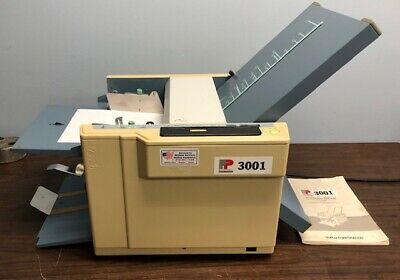Fp 3001duplo D-520 Fully Automatic Tabletop Paper Folder