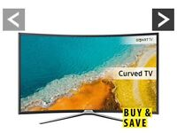 Samsung Curve Full HD LED Smart TV 49 nearly new