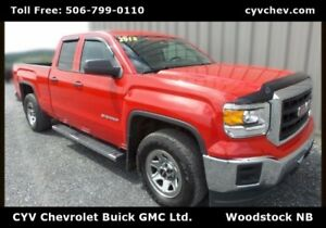 2015 GMC Sierra 1500 Double Cab - 5.3L V8 with Steps & Hitch