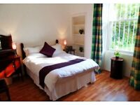 Canonmills Beautiful 1 Bed Furn Flat £750pcm Fresh DecorVictorian Features