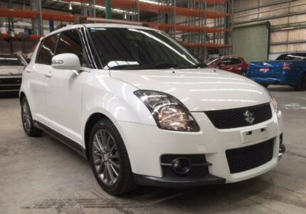 2010 Suzuki Swift RS416 Sport White 5 Speed Manual Hatchback
