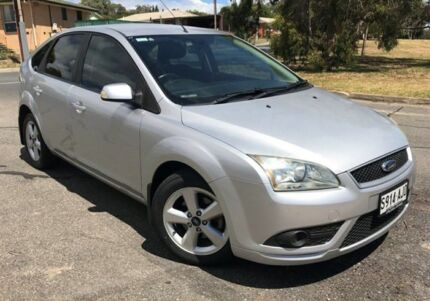 2008 Ford Focus LT LX Silver 4 Speed Sports Automatic Hatchback