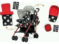 Cosatto shuffle tandem stroller like new