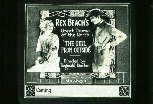 THE GIRL FROM OUTSIDE Silent Film Rare