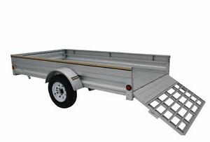 5X10 Trailer Galvanized , Blowout Sale till Trailers are Gone