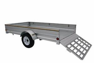 5X10 Fully Galvanized  Trailer Reduced Prices  Includes Extended 2 Year Structural Warranty