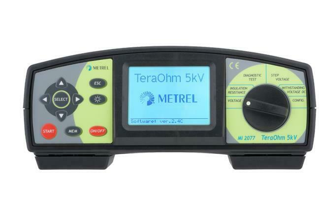 Metrel MI 2077 TeraOhm 5 kV Insulation Tester 5 TΩ 5000V Insulation Resistance