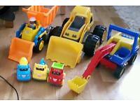 Digger toys